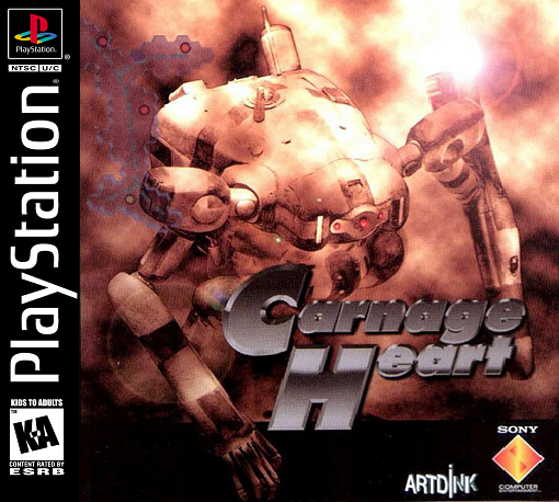 Carnage Heart Sony PlayStation cover artwork