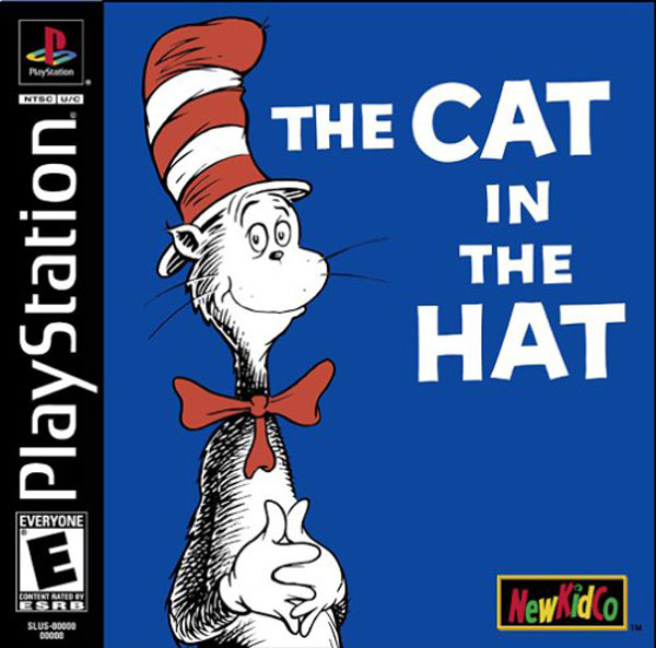 Cat in the Hat, The Sony PlayStation cover artwork