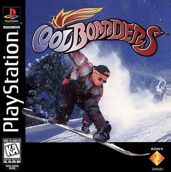 Cool Boarders Sony PlayStation cover artwork