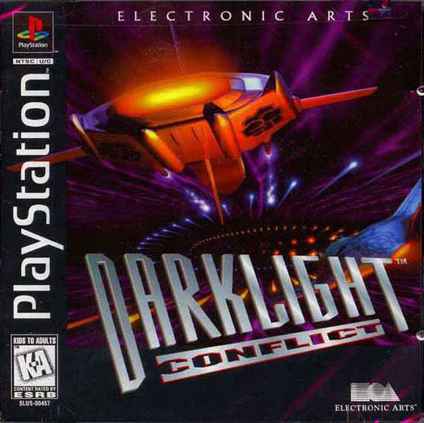 Darklight Conflict Sony PlayStation cover artwork