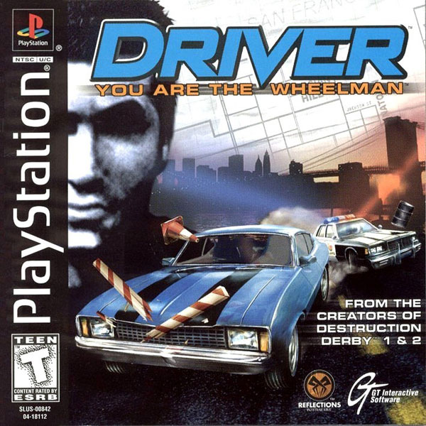 Driver - You Are the Wheelman Sony PlayStation cover artwork