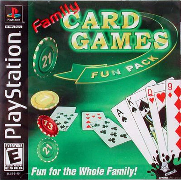 Family Card Games Fun Pack Sony PlayStation cover artwork