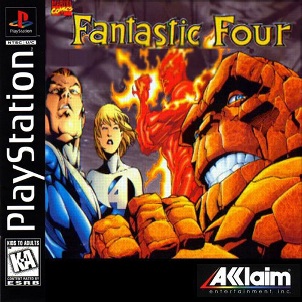 play free fantastic four games online
