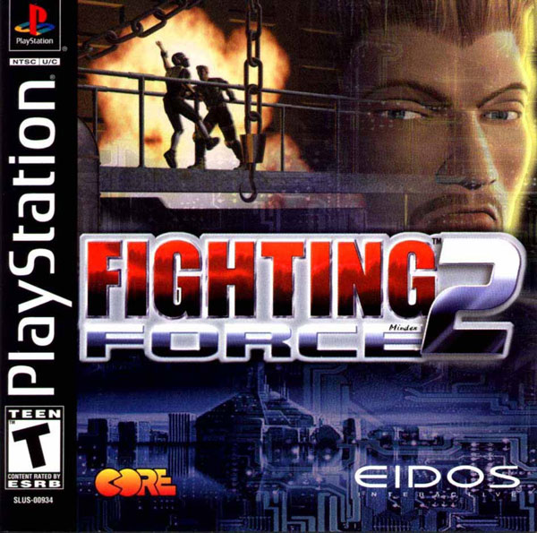 Fighting Force 2 Sony PlayStation cover artwork