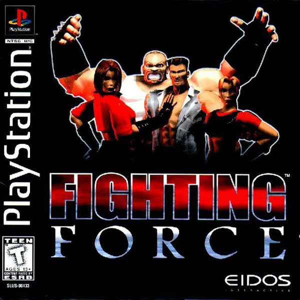 Fighting Force Sony PlayStation cover artwork