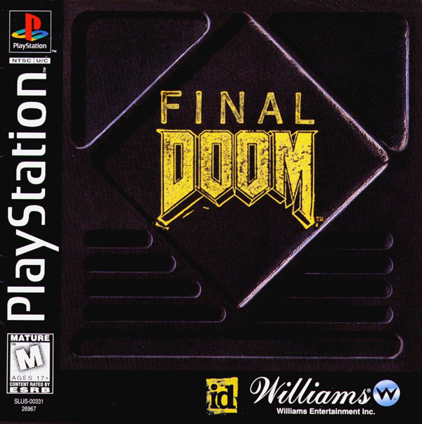 Final Doom Sony PlayStation cover artwork