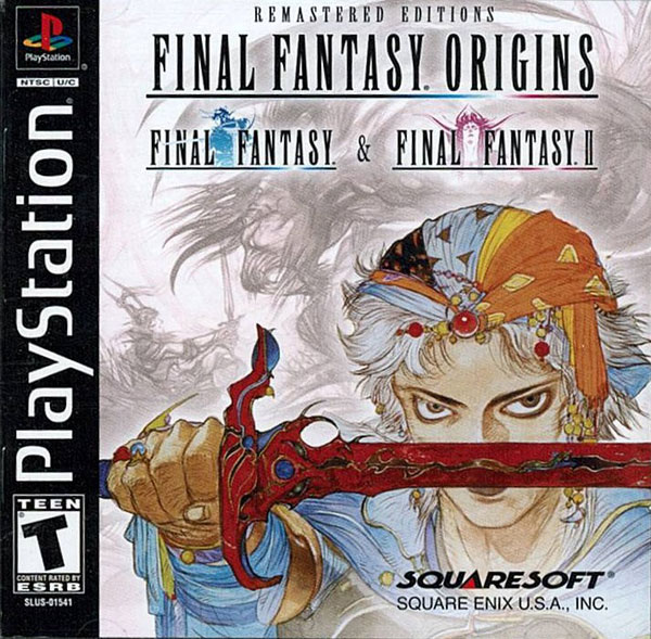 Final Fantasy Origins Sony PlayStation cover artwork