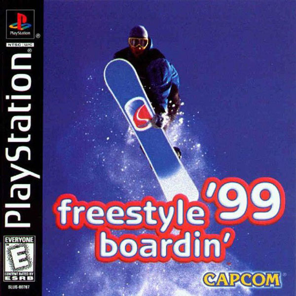 Freestyle Boardin' '99 Sony PlayStation cover artwork