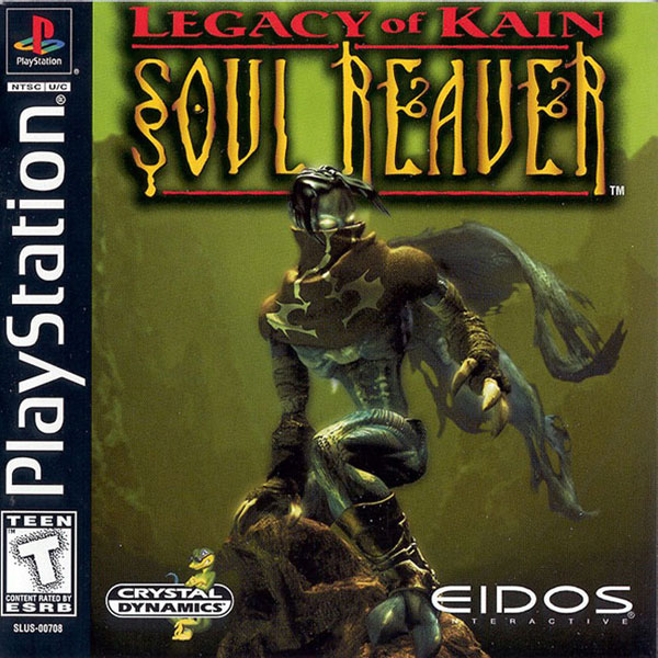 Legacy of Kain - Soul Reaver Sony PlayStation cover artwork