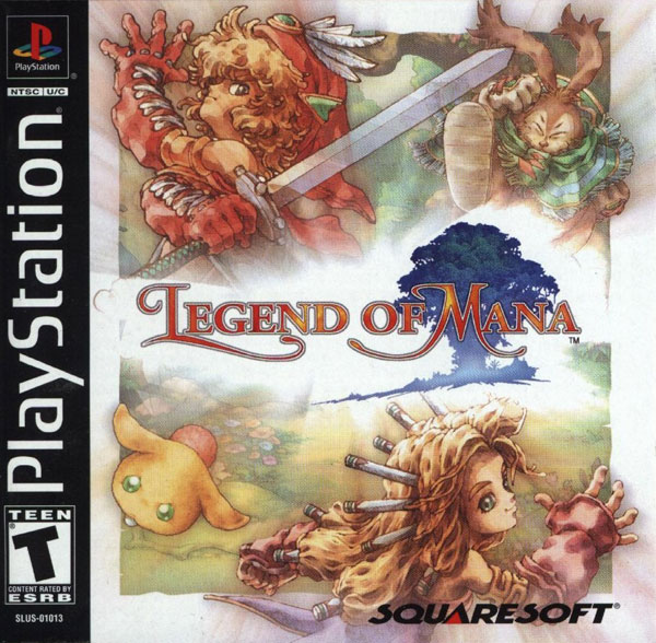 Legend of Mana Sony PlayStation cover artwork