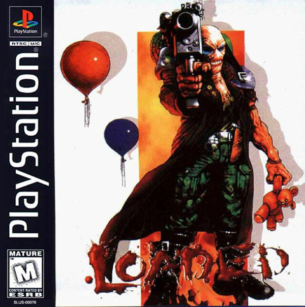 Loaded Sony PlayStation cover artwork