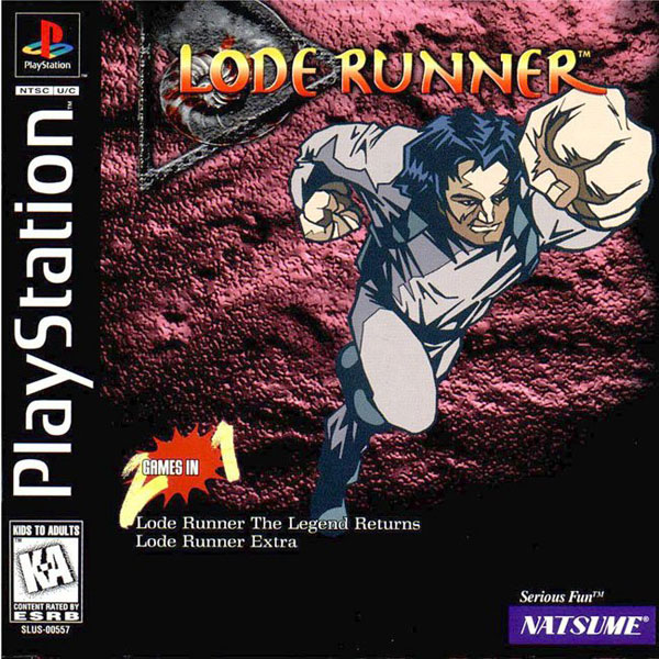Lode Runner Sony PlayStation cover artwork