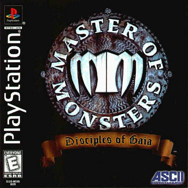 Master of Monsters - Disciples of Gaia Sony PlayStation cover artwork