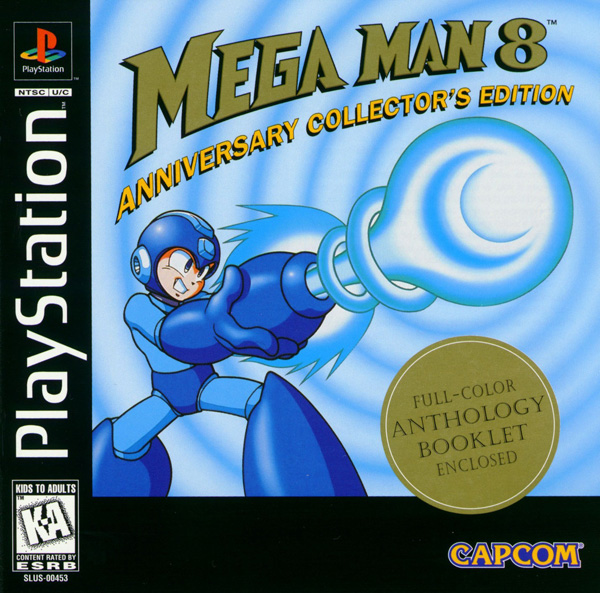 Mega Man 8 Sony PlayStation cover artwork