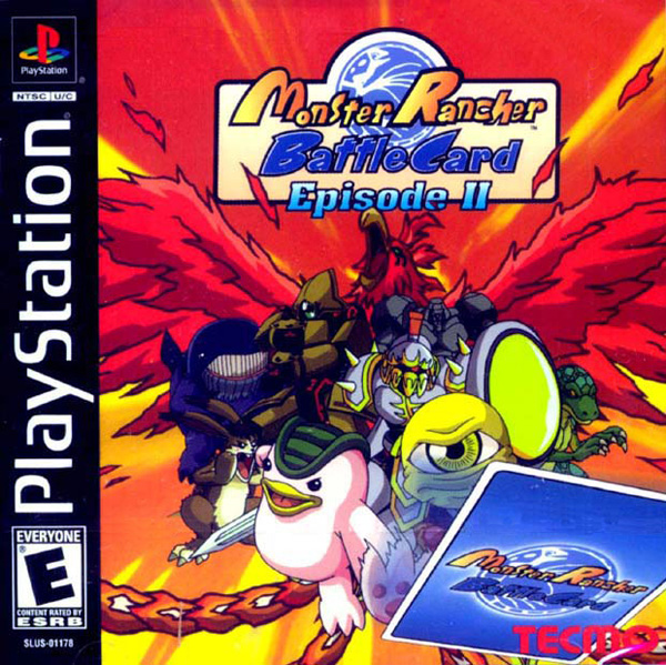 Monster Rancher Battle Card - Episode II Sony PlayStation cover artwork