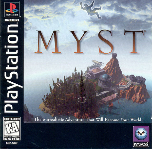 Myst Sony PlayStation cover artwork