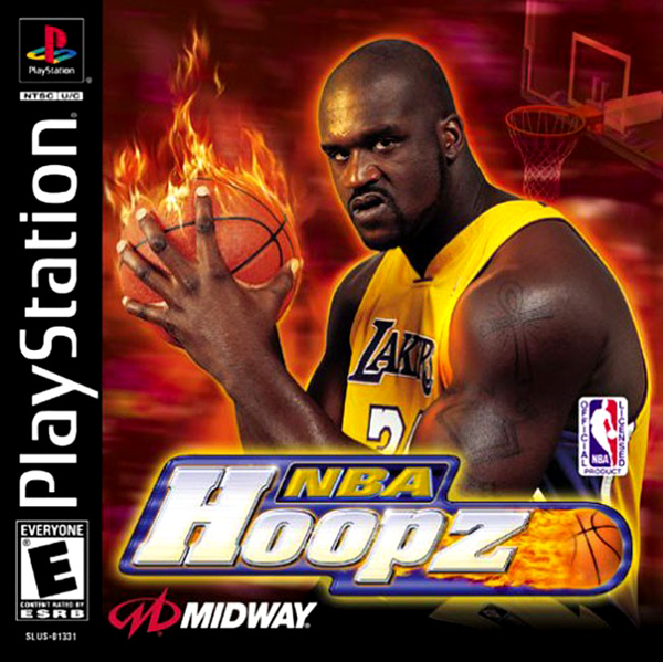 NBA Hoopz Sony PlayStation cover artwork
