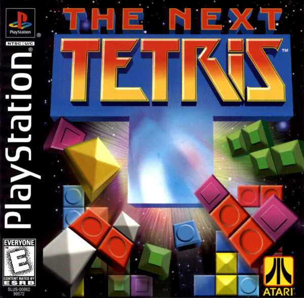 Next Tetris, The Sony PlayStation cover artwork