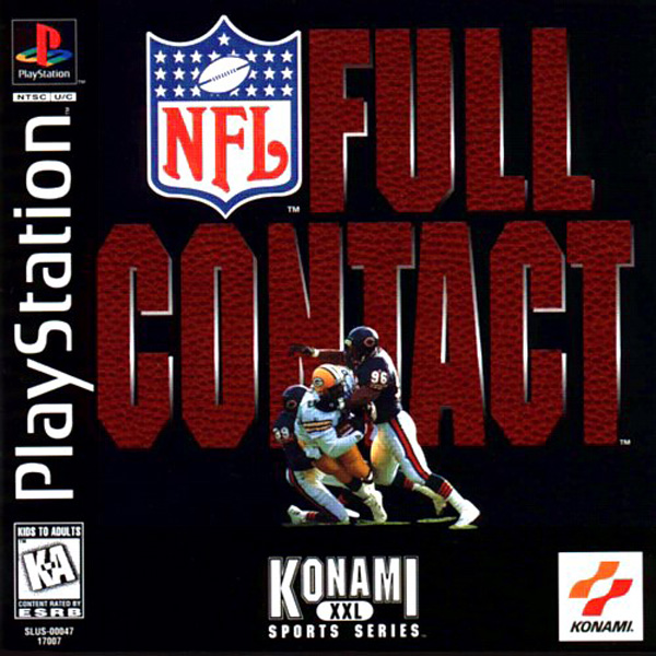 NFL Full Contact Sony PlayStation cover artwork