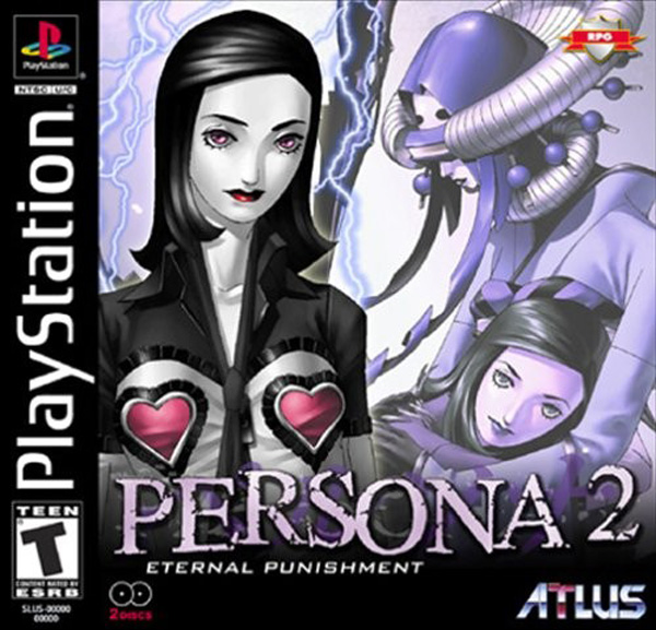 Persona 2 - Eternal Punishment Sony PlayStation cover artwork