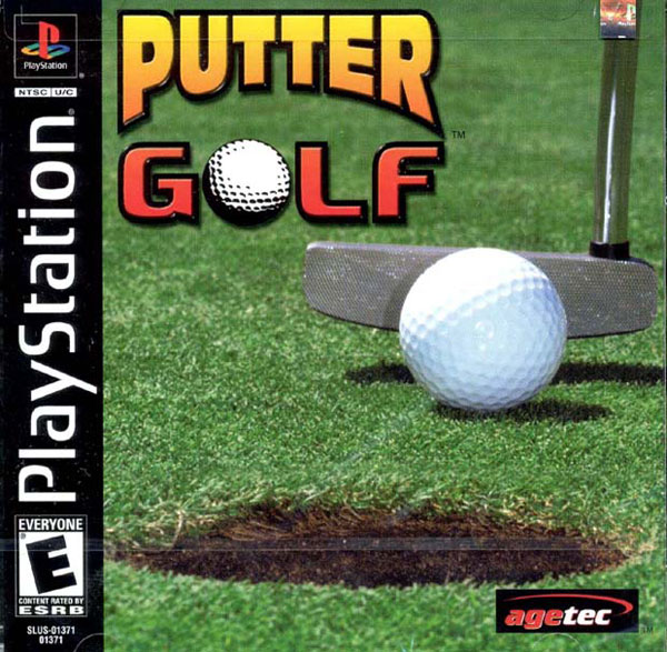 Putter Golf Sony PlayStation cover artwork