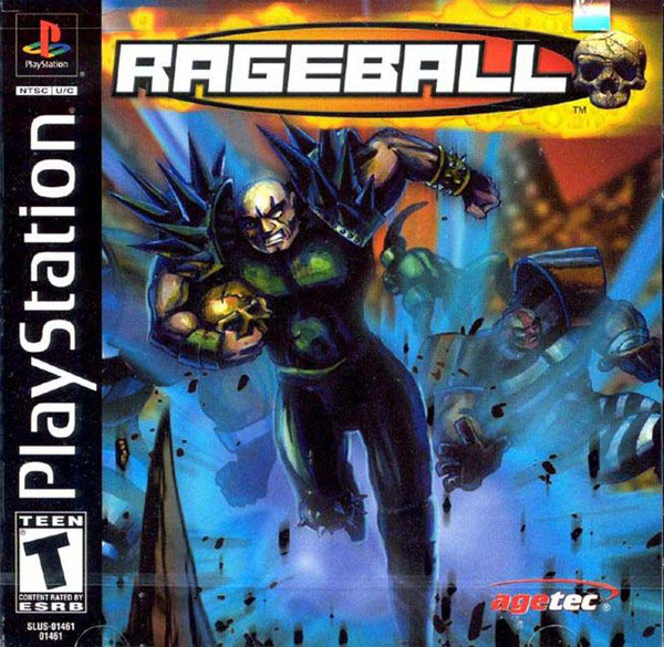 Rageball Sony PlayStation cover artwork