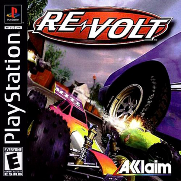 Re-Volt Sony PlayStation cover artwork