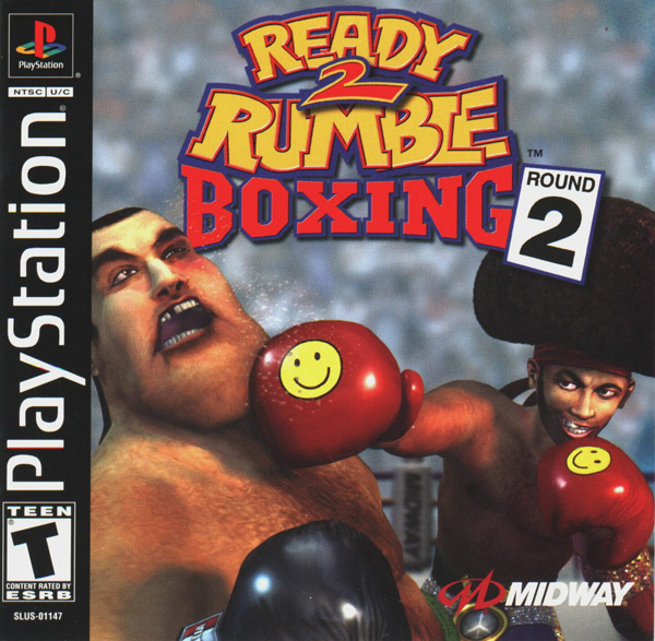 Ready 2 Rumble Boxing - Round 2 Sony PlayStation cover artwork
