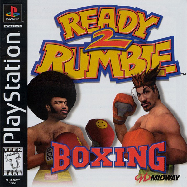 Ready 2 Rumble Boxing Sony PlayStation cover artwork
