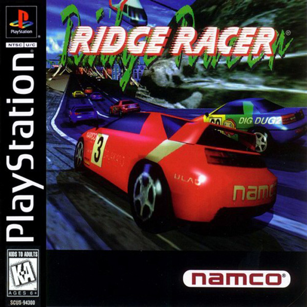 Ridge Racer Sony PlayStation cover artwork