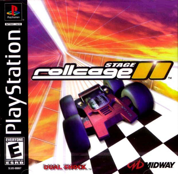 Rollcage - Stage II Sony PlayStation cover artwork