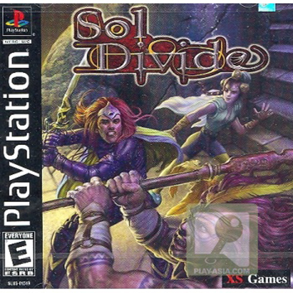 Sol Divide Sony PlayStation cover artwork