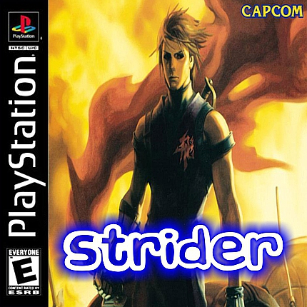 Strider Sony PlayStation cover artwork