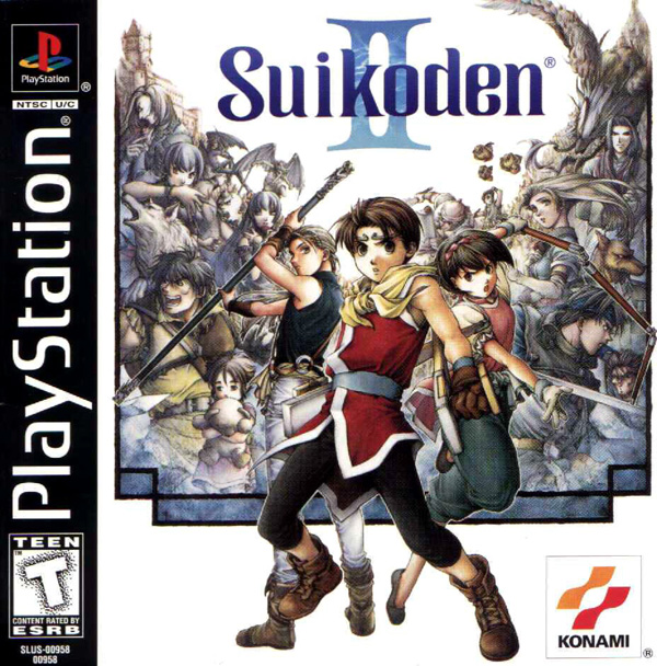 Suikoden II Sony PlayStation cover artwork
