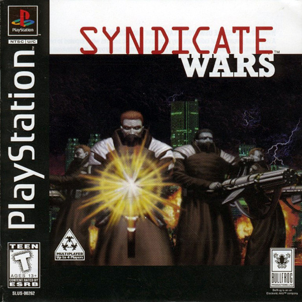Syndicate Wars Sony PlayStation cover artwork