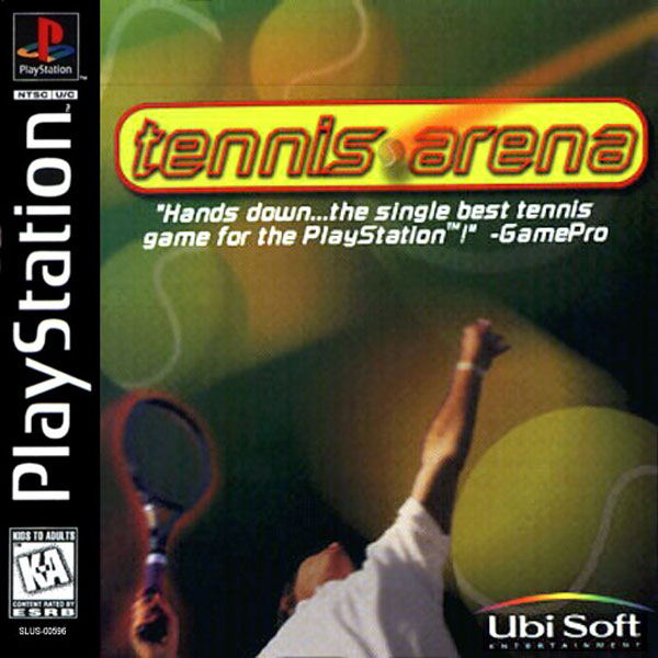 Tennis Arena Sony PlayStation cover artwork