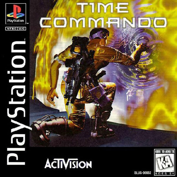 Time Commando Sony PlayStation cover artwork