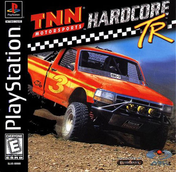 TNN Motorsports Hardcore TR Sony PlayStation cover artwork