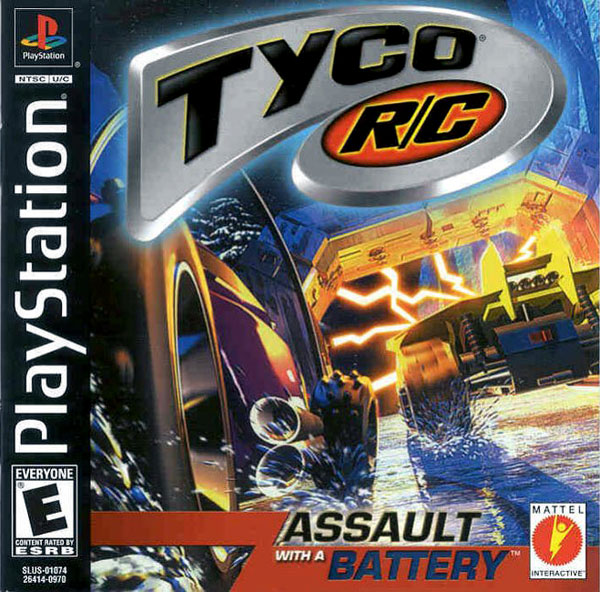 Tyco R-C - Assault with a Battery Sony PlayStation cover artwork