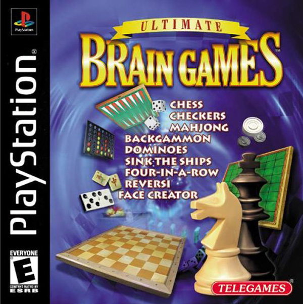 Ultimate Brain Games Sony PlayStation cover artwork