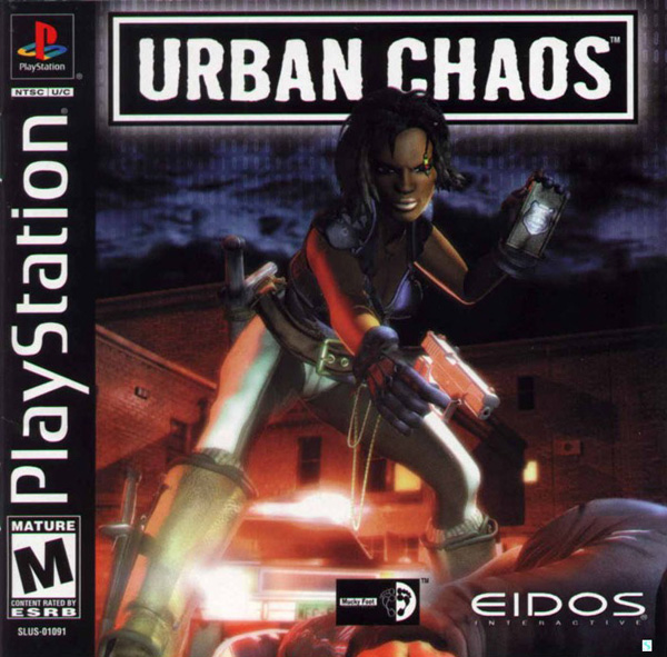 Urban Chaos Sony PlayStation cover artwork