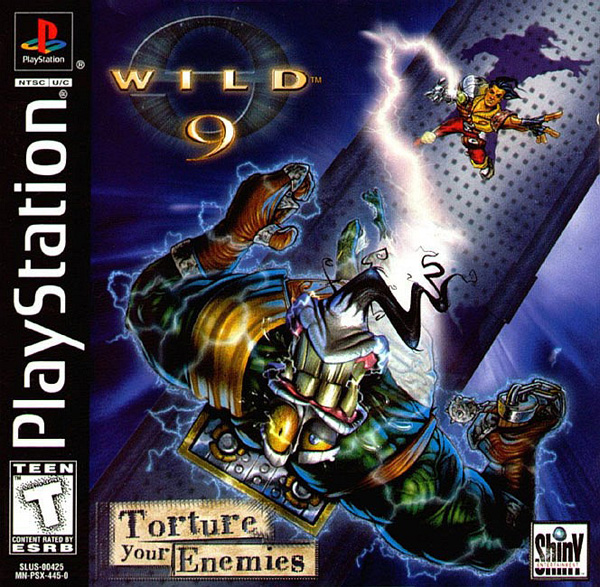 Wild 9 Sony PlayStation cover artwork