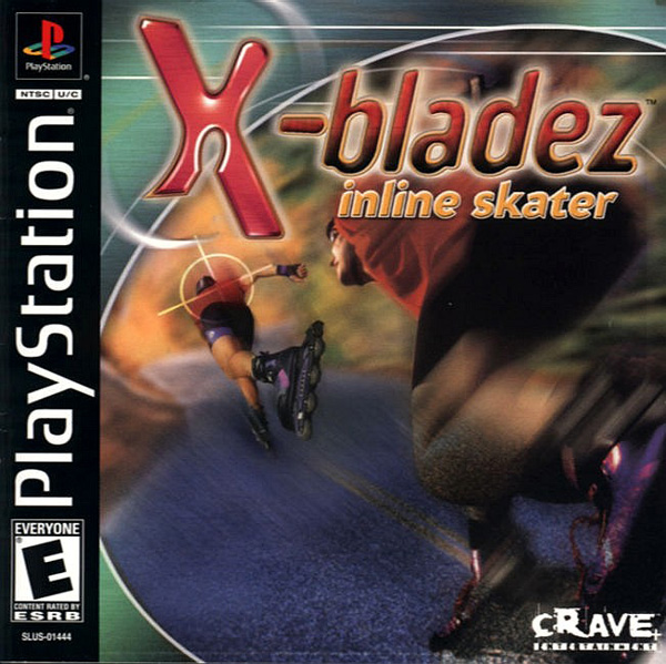 X-Bladez - Inline Skater Sony PlayStation cover artwork
