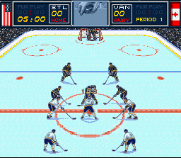 Play Brett Hull Hockey 95 Nintendo Super Nes Online Play Retro
