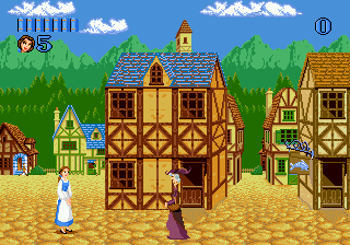 Play Beauty and the Beast - Belle's Quest Sega Genesis online ...