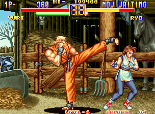 Play Art Of Fighting 2 Snk Neo Geo Online Play Retro Games