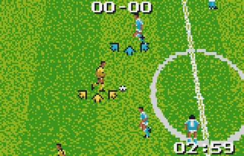 European Soccer Challenge ingame screenshot