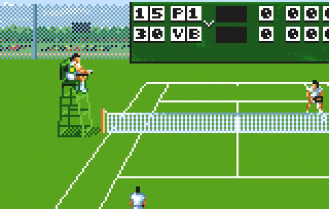 Jimmy Connors' Tennis ingame screenshot
