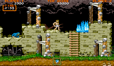Ghouls'n Ghosts ingame screenshot