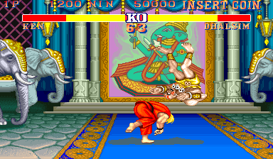 Street Fighter II': Champion Edition ingame screenshot